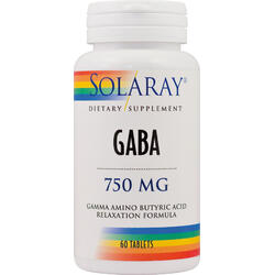 Gaba 750mg 60cpr SOLARAY