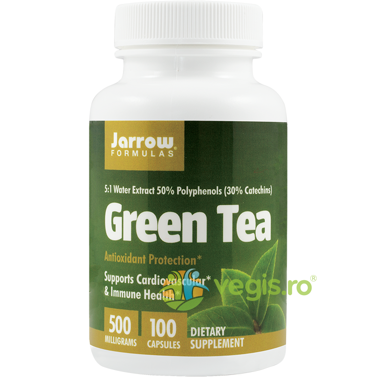 JARROW FORMULAS GREEN TEA (Ceai verde) 500MG 100CPS