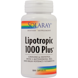 LIPOTROPIC 1000 PLUS 100CPS SOLARAY