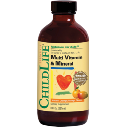 MULTI VITAMIN &MINERAL 237ML CHILD LIFE ESSENTIALS