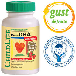PURE DHA 90CPS masticabile CHILD LIFE ESSENTIALS