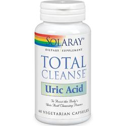 TOTAL CLEANSE URIC ACID 60CPS SOLARAY
