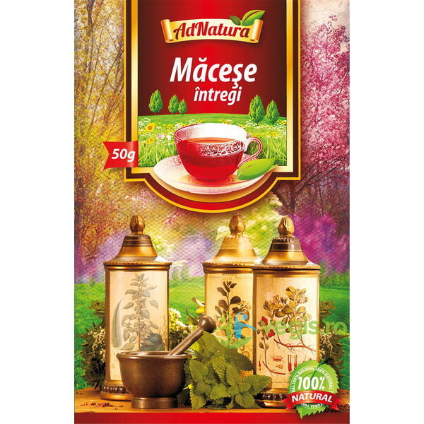 Ceai Macese Intregi 50g ADNATURA