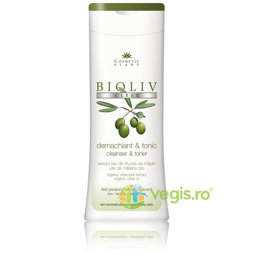 COSMETIC PLANT Demachiant Si Tonic Bioliv Clear 200ml