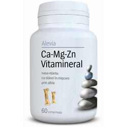 Ca-Mg-Zn Vitamineral - 60cpr ALEVIA