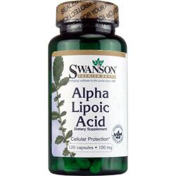 ALPHA LIPOIC ACID 100MG 120CPS