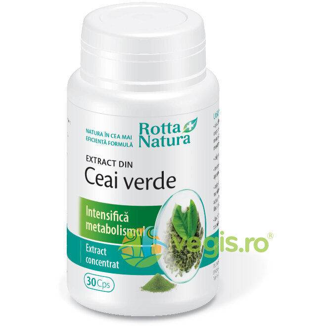 ROTTA NATURA Ceai Verde Extract 30cps