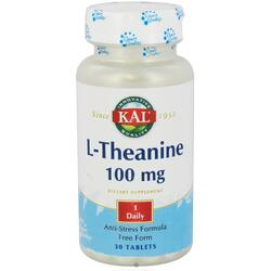 L-THEANINE 100MG 30CPR (L-Teanina) KAL