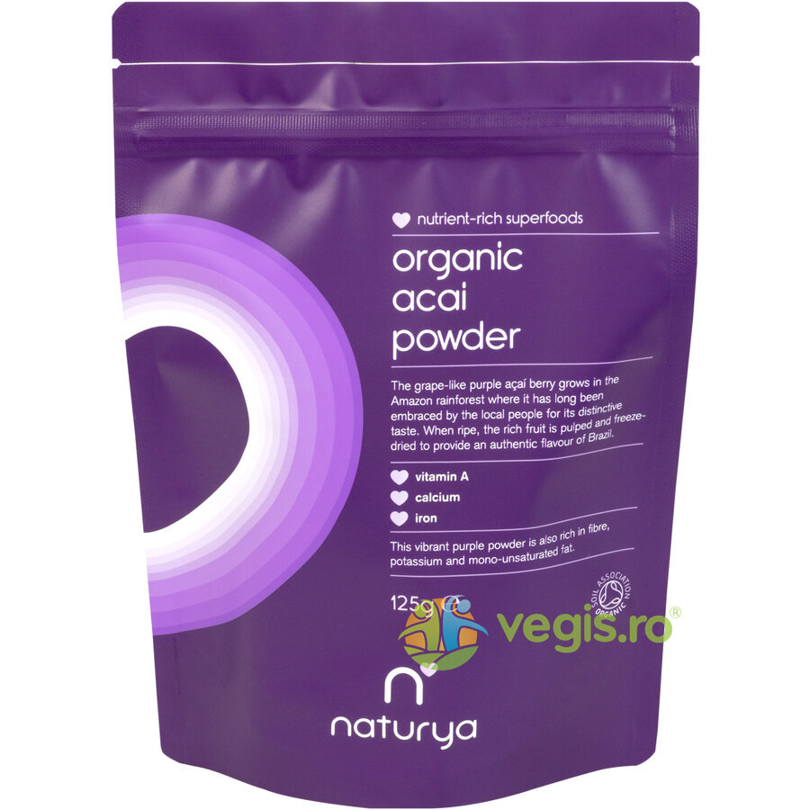 Acai Pulbere Ecologica/Bio 125g thumbnail