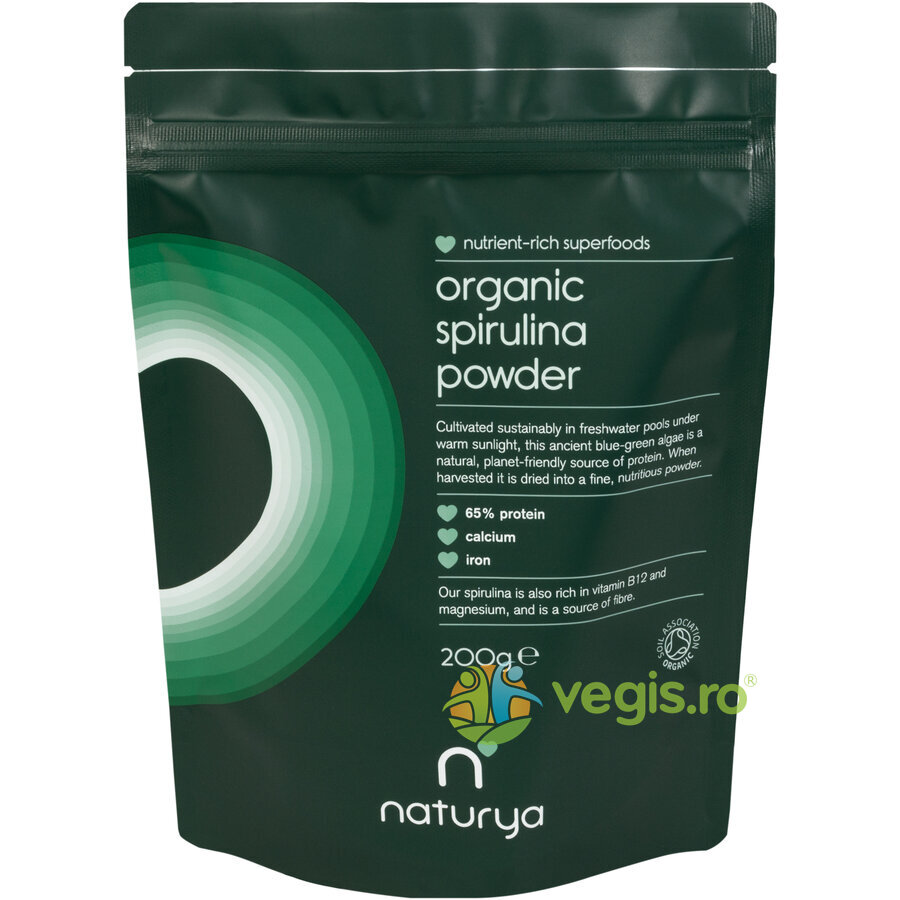 Spirulina Pulbere Ecologica/Bio 200g thumbnail