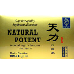 Natural Potent 6x10ml NATURALIA DIET