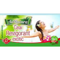 Ceai Revigorant Exotic 25dz ADNATURA