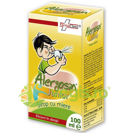 sirop alergosin cu miere junior 100ml
