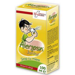 Sirop Alergosin Cu Miere Junior 100ml FARMACLASS