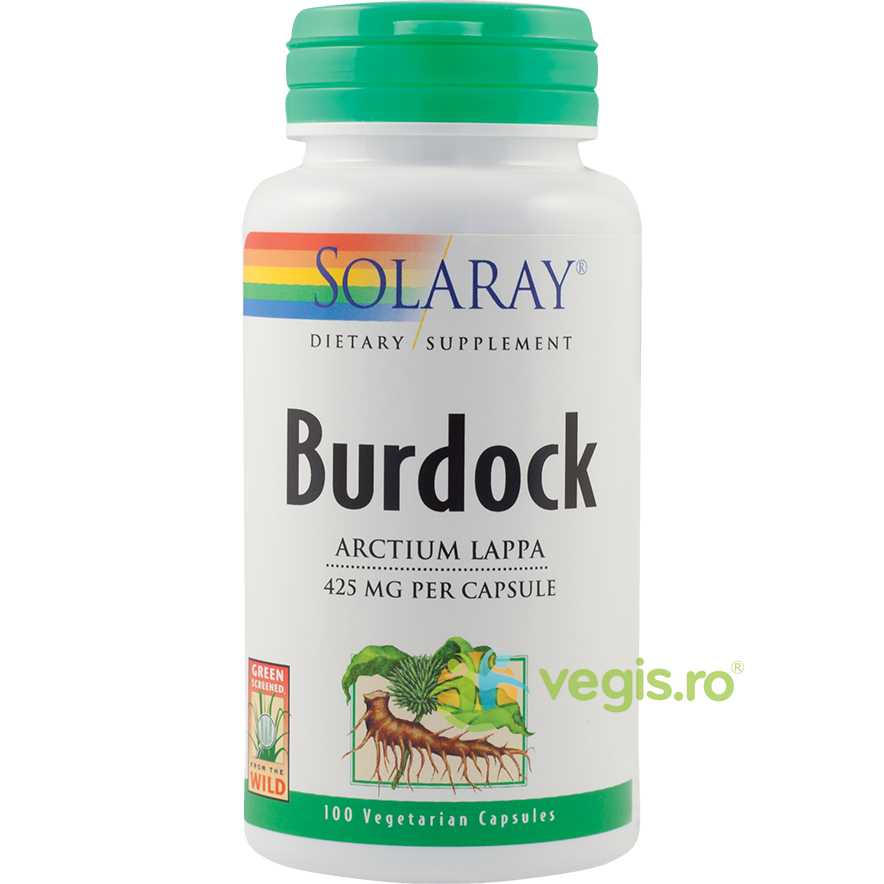 Burdock (Brusture) 425mg 100 capsule thumbnail