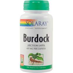 Burdock (Brusture) 425mg 100 capsule SOLARAY