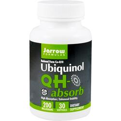 Ubiquinol QH-Absorb 200mg  30cps JARROW FORMULAS