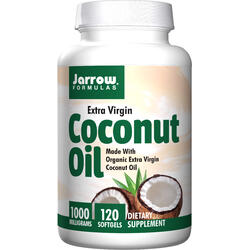 Coconut Oil Extra Virgin (Ulei de cocos) 1000mg 120cps JARROW FORMULAS