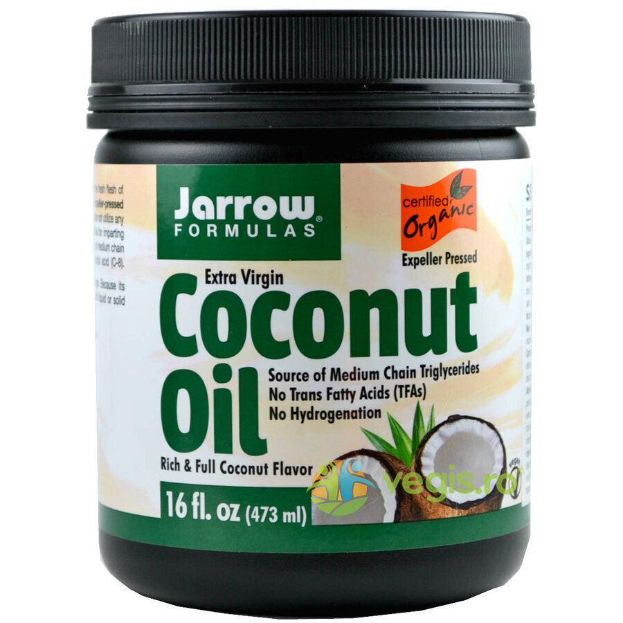 Coconut Oil Extra Virgin (Ulei de cocos) 473ml thumbnail