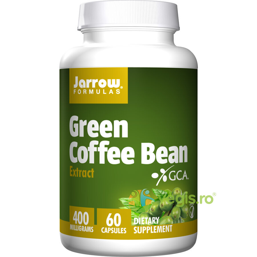 Green Coffee Bean (Cafea verde) 400mg 60cps thumbnail