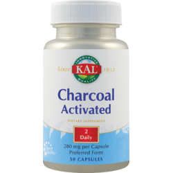 Charcoal Activated (Carbune medicinal activ) 50Cps