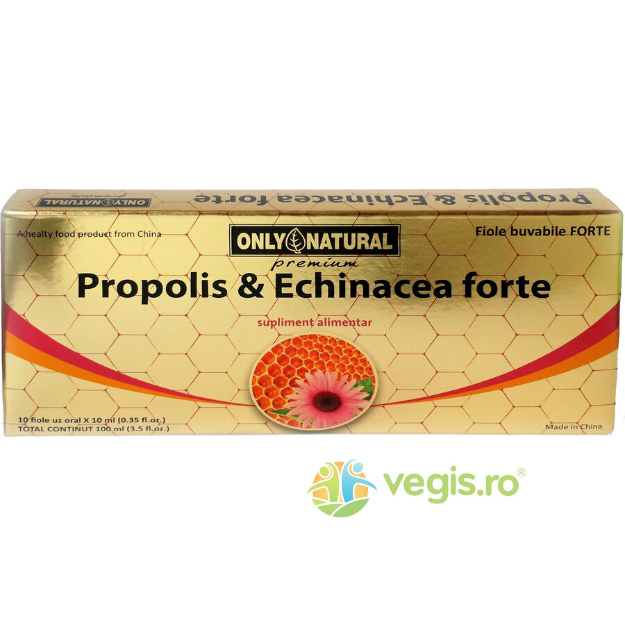 ON Propolis + Echinaceea Forte 10fiole*10ml 1000mg+1000mg