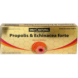 ON Propolis + Echinacea Forte 10fiole*10ml 1000mg+1000mg ONLY NATURAL