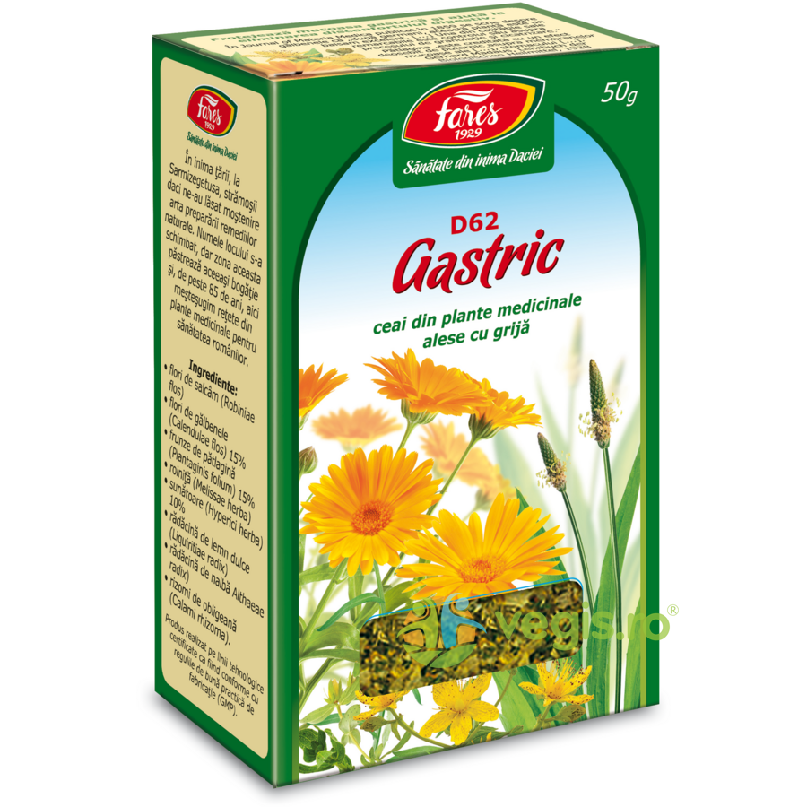 Ceai Gastric (D62) 50gr imagine