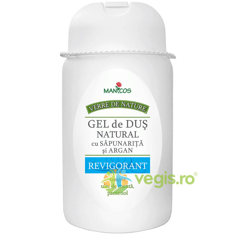 MANICOS Gel De Dus Natural Revigorant 300ml