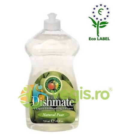 EARTH FRIENDLY PRODUCTS Solutie Pentru Spalat Vase (Pere) 750ml