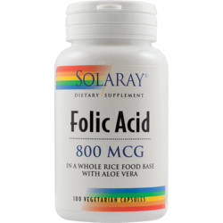 Acid Folic 100cps SOLARAY