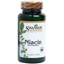 Vitamina B3 (Niacina) 100mg 250cpr