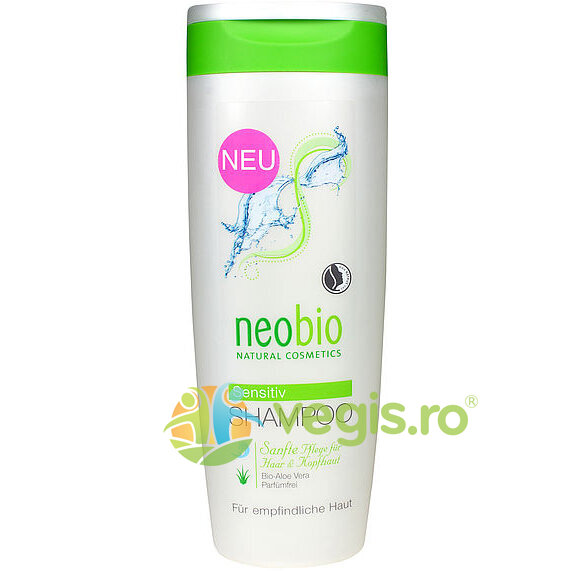 NEOBIO Sampon Sensitiv Cu Aloe Vera 250ml