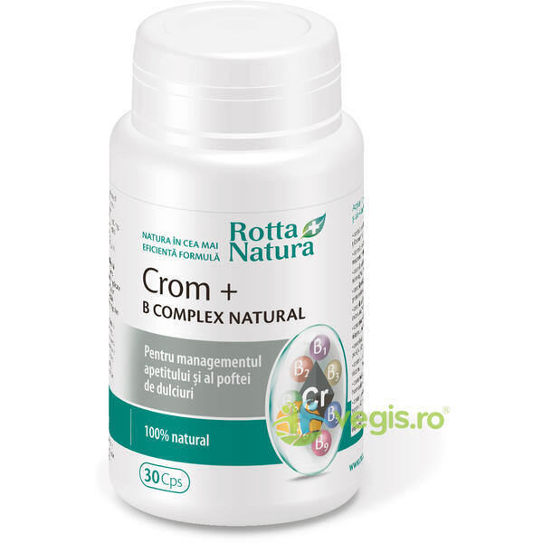 Crom+ B-Complex Natural 30cps ROTTA NATURA