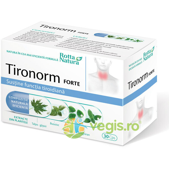 ROTTA NATURA Tironorm Forte 30cps