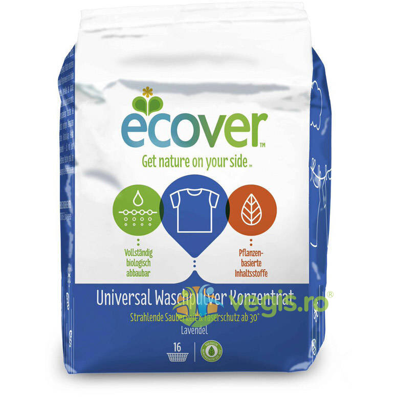 ECOVER Detergent Universal Rufe Concentrat 1200gr