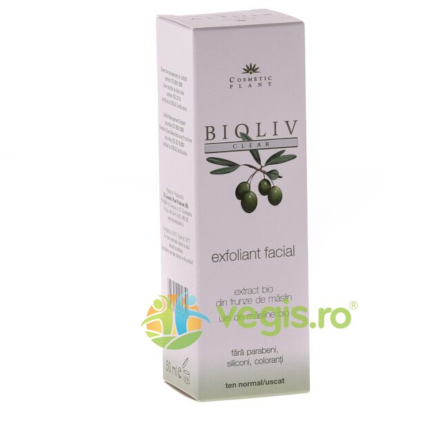 COSMETIC PLANT Exfoliant Facial Bioliv 50ml