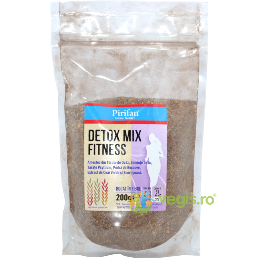 Detox Mix Natural (Fitness) 200g imagine produs 2021