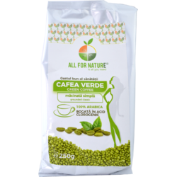 Cafea Verde Macinata 250gr ALL FOR NATURE