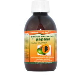Solutie Extractiva De Papaya 200ml FAVISAN