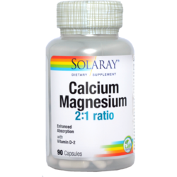 Calcium Magnezium With Vitamin D 90cps SOLARAY