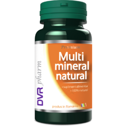 Multimineral Natural 30cps DVR PHARM