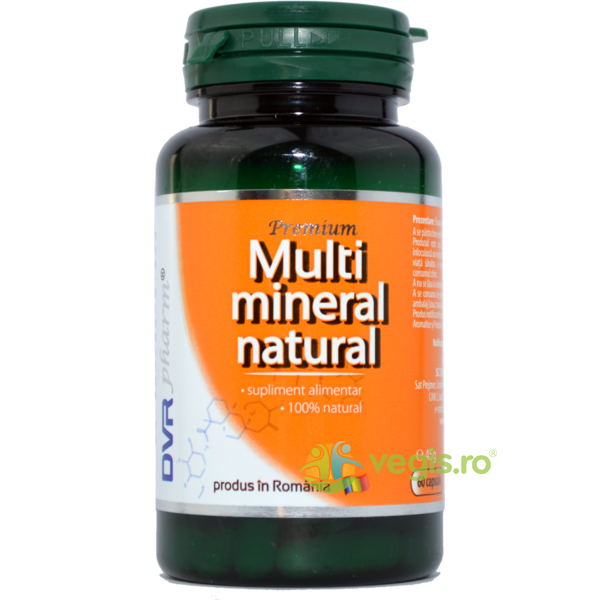 Multimineral Natural 60cps DVR PHARM