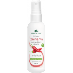Lotiune Tonifianta Par Ardei Iute (Spray) 100ml COSMETIC PLANT