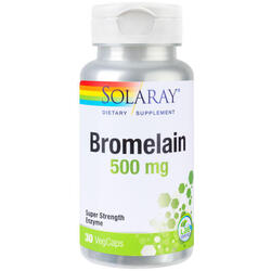 Bromelain 500mg 30cps SOLARAY