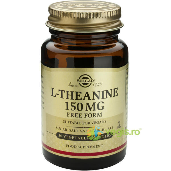 L-Theanine (L-Teanina) 150mg 30cps Vegetale SOLGAR