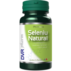 Seleniu Natural 60cps DVR PHARM
