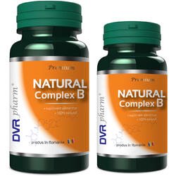 Complex B Natural 60cps+30cps DVR PHARM
