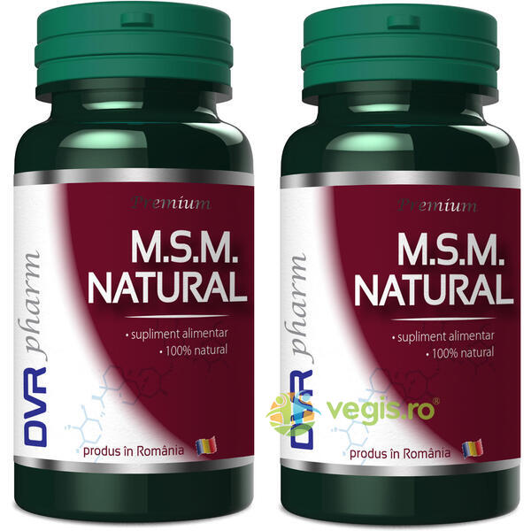 MSM Natural 90cps + 40cps Gratis DVR PHARM