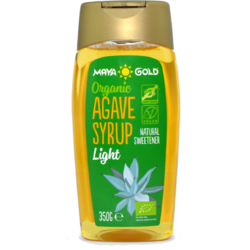 Sirop De Agave Light Ecologic/Bio 350g/250ml MAYA GOLD